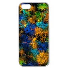 Squiggly Abstract C Apple Seamless Iphone 5 Case (clear)