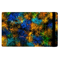 Squiggly Abstract C Apple Ipad 2 Flip Case