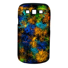 Squiggly Abstract C Samsung Galaxy S Iii Classic Hardshell Case (pc+silicone)