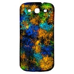 Squiggly Abstract C Samsung Galaxy S3 S Iii Classic Hardshell Back Case