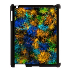 Squiggly Abstract C Apple Ipad 3/4 Case (black)