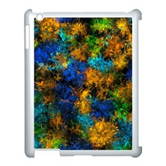 Squiggly Abstract C Apple Ipad 3/4 Case (white)