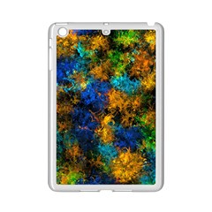 Squiggly Abstract C Ipad Mini 2 Enamel Coated Cases