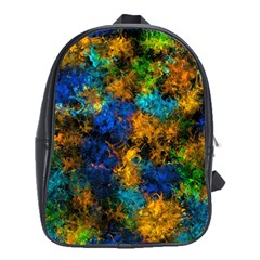 Squiggly Abstract C School Bag (xl)