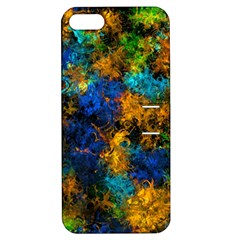 Squiggly Abstract C Apple Iphone 5 Hardshell Case With Stand