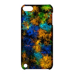 Squiggly Abstract C Apple Ipod Touch 5 Hardshell Case With Stand