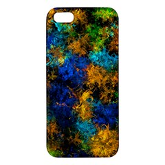 Squiggly Abstract C Apple Iphone 5 Premium Hardshell Case