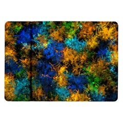 Squiggly Abstract C Samsung Galaxy Tab 10 1  P7500 Flip Case