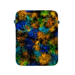 Squiggly Abstract C Apple Ipad 2/3/4 Protective Soft Cases