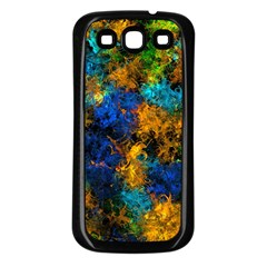 Squiggly Abstract C Samsung Galaxy S3 Back Case (black)