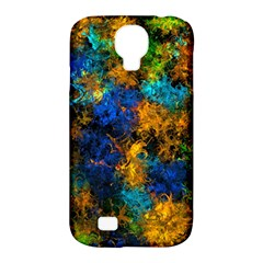 Squiggly Abstract C Samsung Galaxy S4 Classic Hardshell Case (pc+silicone)
