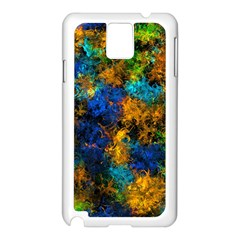 Squiggly Abstract C Samsung Galaxy Note 3 N9005 Case (white)