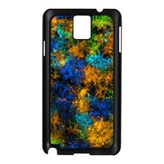 Squiggly Abstract C Samsung Galaxy Note 3 N9005 Case (black)