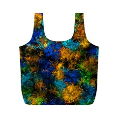 Squiggly Abstract C Full Print Recycle Bags (m)