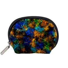 Squiggly Abstract C Accessory Pouches (small)