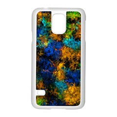 Squiggly Abstract C Samsung Galaxy S5 Case (white)