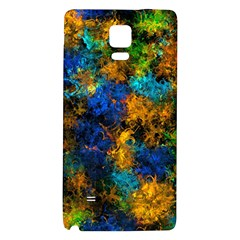 Squiggly Abstract C Galaxy Note 4 Back Case