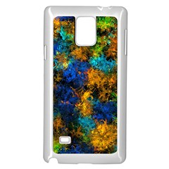 Squiggly Abstract C Samsung Galaxy Note 4 Case (white)