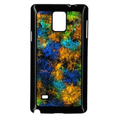 Squiggly Abstract C Samsung Galaxy Note 4 Case (black)