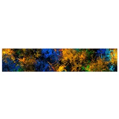 Squiggly Abstract C Flano Scarf (small)