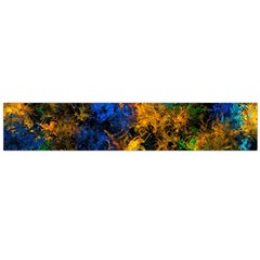 Squiggly Abstract C Flano Scarf (large)
