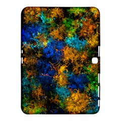 Squiggly Abstract C Samsung Galaxy Tab 4 (10 1 ) Hardshell Case