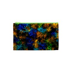 Squiggly Abstract C Cosmetic Bag (xs)