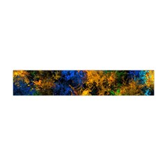 Squiggly Abstract C Flano Scarf (mini)