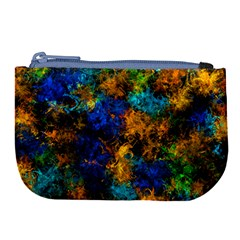 Squiggly Abstract C Large Coin Purse