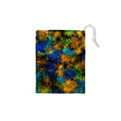Squiggly Abstract C Drawstring Pouches (xs)