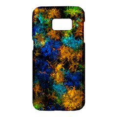 Squiggly Abstract C Samsung Galaxy S7 Hardshell Case