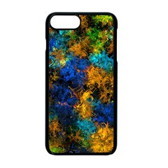 Squiggly Abstract C Apple Iphone 7 Plus Seamless Case (black)