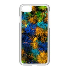 Squiggly Abstract C Apple Iphone 7 Seamless Case (white)