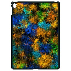 Squiggly Abstract C Apple Ipad Pro 9 7   Black Seamless Case