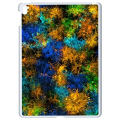 Squiggly Abstract C Apple Ipad Pro 9 7   White Seamless Case