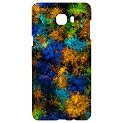 Squiggly Abstract C Samsung C9 Pro Hardshell Case