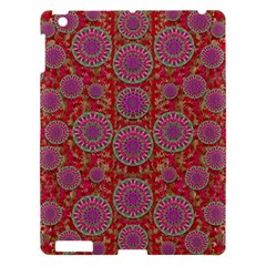 Hearts Can Also Be Flowers Such As Bleeding Hearts Pop Art Apple Ipad 3/4 Hardshell Case