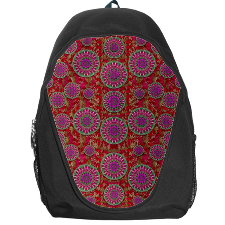 Hearts Can Also Be Flowers Such As Bleeding Hearts Pop Art Backpack Bag