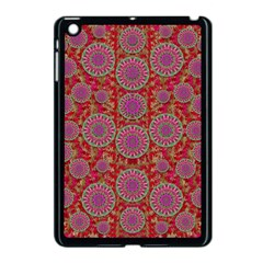 Hearts Can Also Be Flowers Such As Bleeding Hearts Pop Art Apple Ipad Mini Case (black)