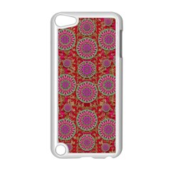 Hearts Can Also Be Flowers Such As Bleeding Hearts Pop Art Apple Ipod Touch 5 Case (white)