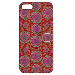 Hearts Can Also Be Flowers Such As Bleeding Hearts Pop Art Apple Iphone 5 Hardshell Case With Stand