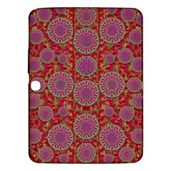 Hearts Can Also Be Flowers Such As Bleeding Hearts Pop Art Samsung Galaxy Tab 3 (10 1 ) P5200 Hardshell Case