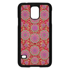 Hearts Can Also Be Flowers Such As Bleeding Hearts Pop Art Samsung Galaxy S5 Case (black)