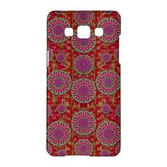 Hearts Can Also Be Flowers Such As Bleeding Hearts Pop Art Samsung Galaxy A5 Hardshell Case