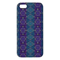 Retro Vintage Bleeding Hearts Pattern Iphone 5s/ Se Premium Hardshell Case