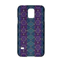 Retro Vintage Bleeding Hearts Pattern Samsung Galaxy S5 Hardshell Case