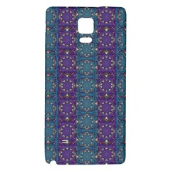 Retro Vintage Bleeding Hearts Pattern Galaxy Note 4 Back Case