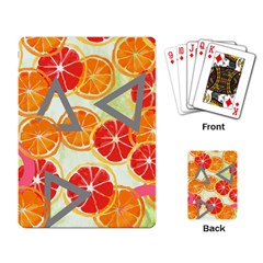 Citrus Play Playing Card