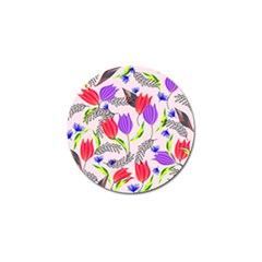Floral Paradise Golf Ball Marker (10 Pack)
