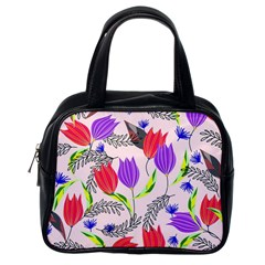 Floral Paradise Classic Handbags (one Side)